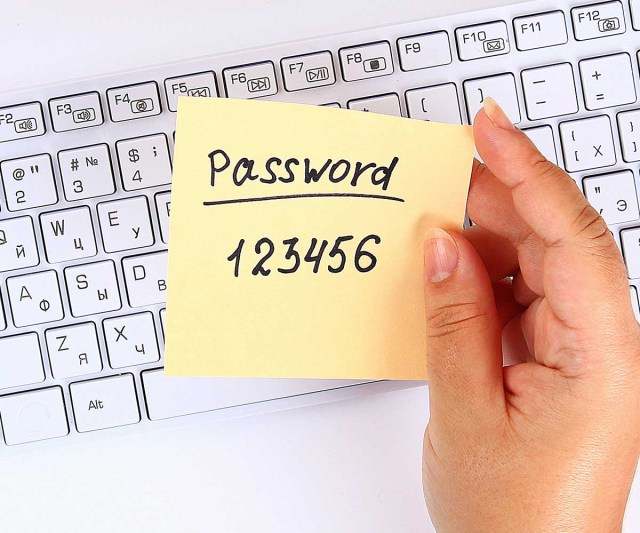 strong passwords are imperative