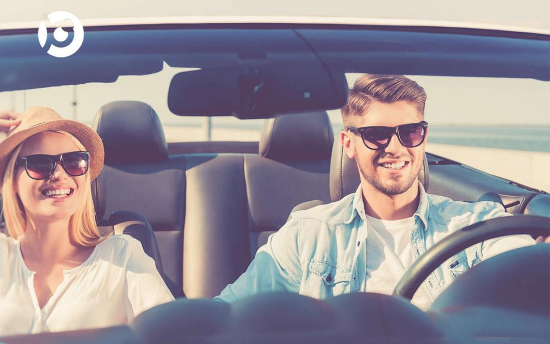 Los riesgos de dejar las gafas de sol en el coche