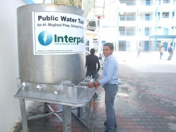 PUBLIC WATER TANKS: We provide safe and specifically designed water tanks for public institutions such as schools and mosques across all our areas of operation.