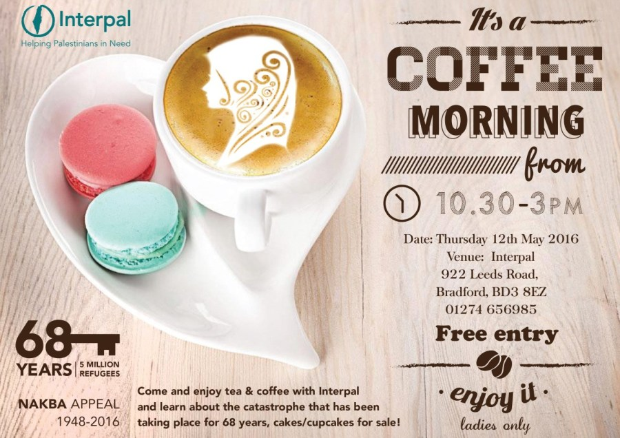 Ladies Coffee Morning in Bradford!