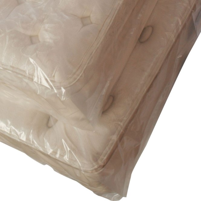 Twin Pillow Top Mattress Plastic Bags 3mil 40 X 1 5 95 Gusseted