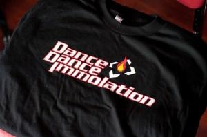 Dance Dance Immolation shirt