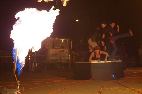 2pir at the Fire Arts Festival