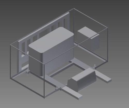 Initial CAD of AMCP Platform