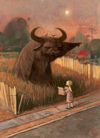 """""""O búfalo do rio"""" que sempre apontava na direção certa"""