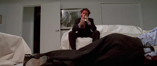 """Christian Bale em """"Psicopata Americano"""", dirigido por Mary Harron"""