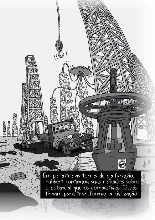Pico do Petróleo, por Stuart McMillen #021