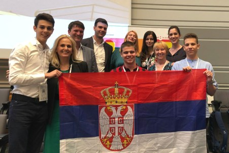 Intersection Youth team at the European Student Parliament in Toulouse, July 2018