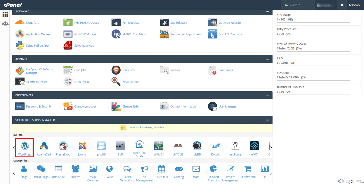 Login to WordPress Dashboard From cPanel - Interserver Tips