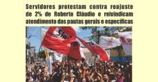 Servidores de Fortaleza: Campanha salarial - dia 14/04, todos à Praça do Ferreira às 8h!