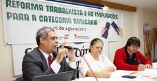 Sindibancários-ES realizam Seminário Reforma Trabalhista e as Implicações para a Categoria Bancária