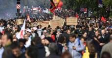 Os contrastes da luta contra a reforma trabalhista e a cobertura da mídia no Brasil e na França