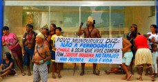 Munduruku barram audiência sobre Ferrogrão, que pode impactar seu território