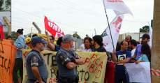 Trabalhadores escracham Temer e Alckmin em visita a Campinas