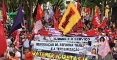 Fortaleza marca presença na luta contra a reforma da Previdência