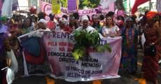 Mulheres do Pará ocupam as ruas neste 8 de Março!