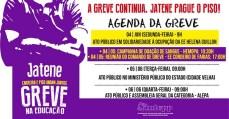 No Pará, a greve da educação toma força. Recuar Jamais!