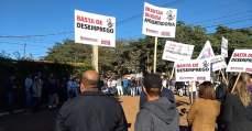 Trabalhadores químicos realiza atos em fábricas químicas em Paulínia e Osasco