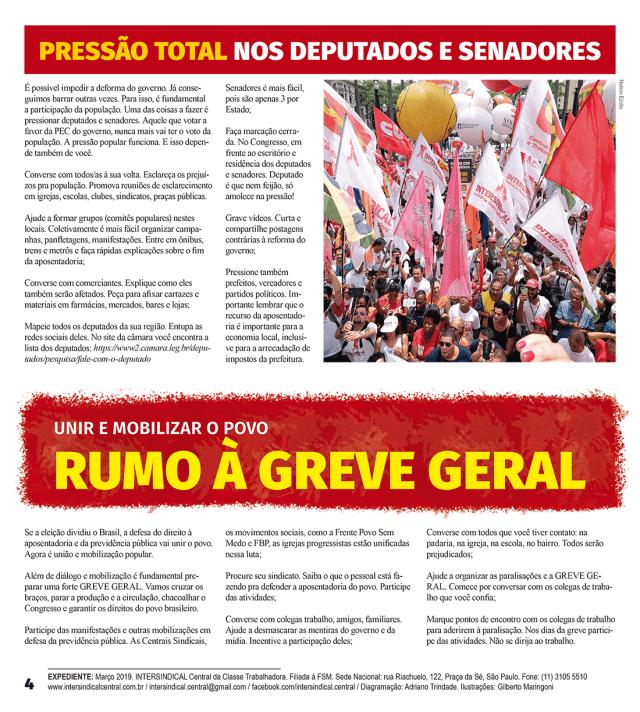 Jornal Reforma da Previdência página 2019 4
