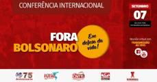 conferência internacional fora bosonaro