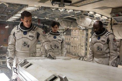 Matthew McConaughy & Anne Hathaway in Interstellar