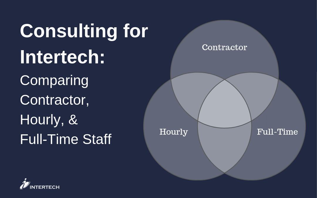 Consulting for Intertech: Comparing Contractor, Hourly, & Full-Time Staff
