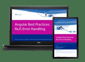 Angular Best Practices:  RxJS Error Handling Screen Image