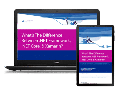 What's The Difference Between .NET Framework, .NET Core, & Xamarin?