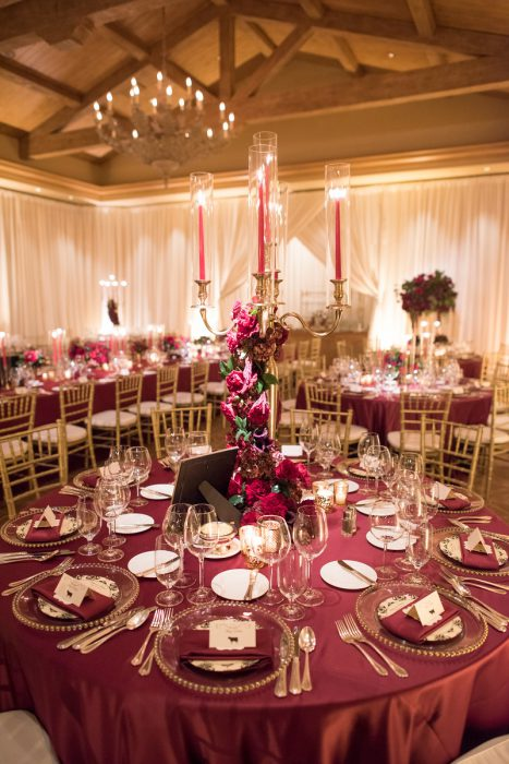 AN INTERTWINED EVENT ROMANTIC RED WEDDING AT PELICAN HILL