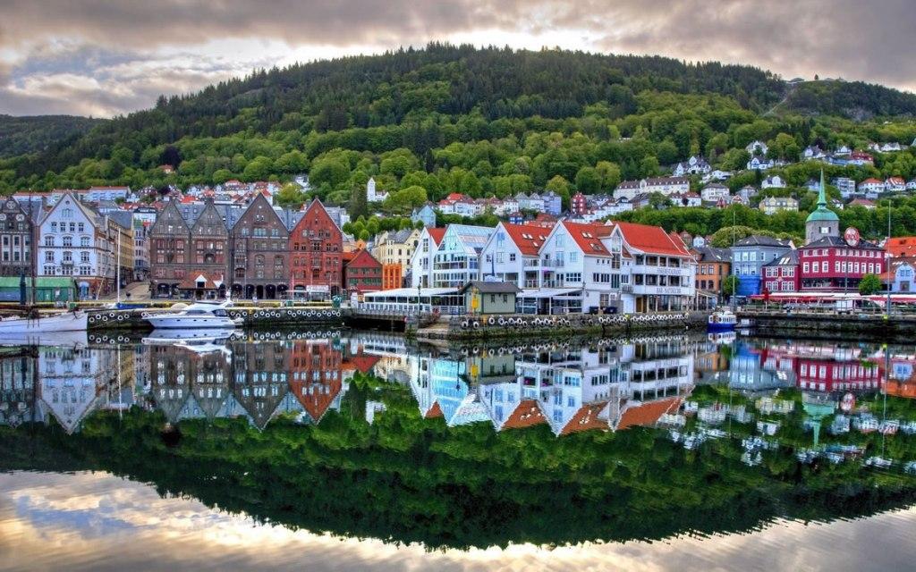Ciudad noruega, bestfon.info