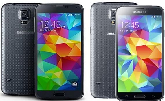 Samsung Galaxy S5 Vs Goophone S5