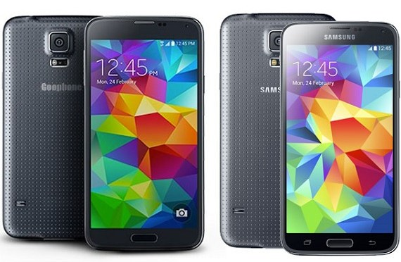Goophone S5, la perfecta copia china del Samsung Galaxy S5 con un precio muy inferior