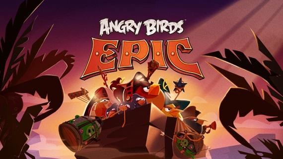 Descubre el trailer oficial de Angry Birds Epic