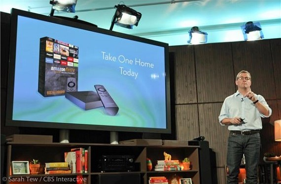 Amazon Fire TV, el nuevo dispositivo de Amazon que no nos dejará movernos del sofá