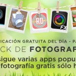 Amazon regala sólo durante el día de hoy 9 aplicaciones de fotografía
