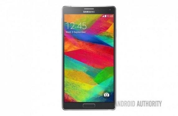 Esta es la primera imagen oficial del Samsung Galaxy Note 4