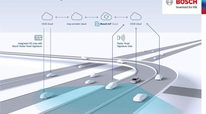 Un radar será el encargado de evitar los choques entre coches autónomos
