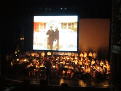 Zoe and the ORMS Jazz Band and Studio Orchestra perform at the Portsmouth Music Hall.
