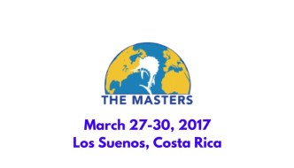 The Masters Angling Tournament- March 27-30, Costa Rica