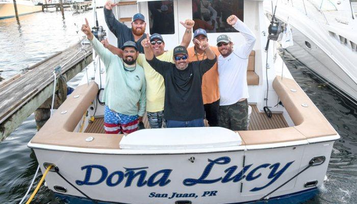 Dona Lucy Wins USVI Blue Marlin Tournament