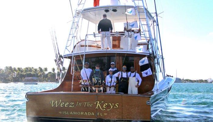 Weez in the Keys Wins Operation Sailfish Tournament Dec 8/9