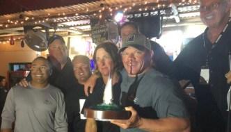 Katherine Anne Wins the Island Time in Isla