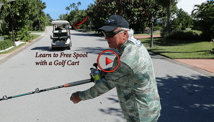 Learn to Free Spool Sailfish with a Golf Cart and Reel