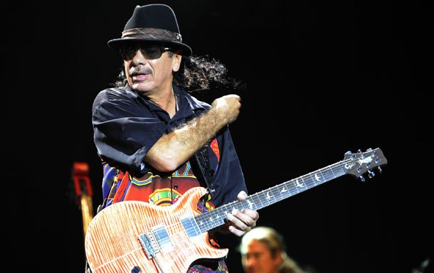 carlos santana sentiment tour