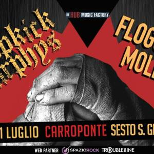 Dropkick Murphys and Flogging Molly at Carroponte (MI)