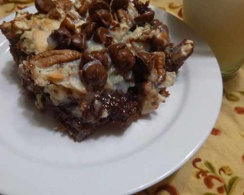Four Layer Brownies