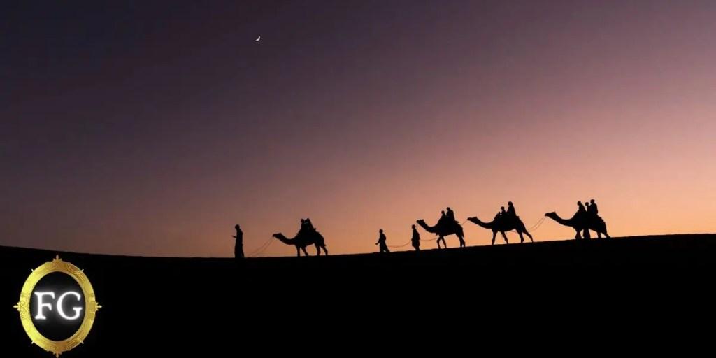 Forgotten Gods: Sand for a Bedouin