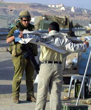 Israeli security check