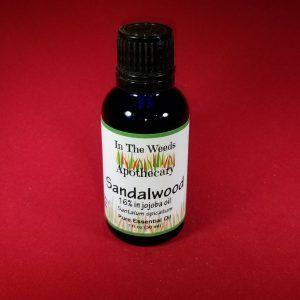 Sandalwood Essential Oil, 1oz.