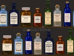 Old cough syrup medicine